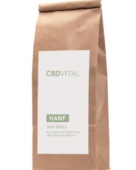 CBD Hanfblütentee Bio 1,9% – just relax