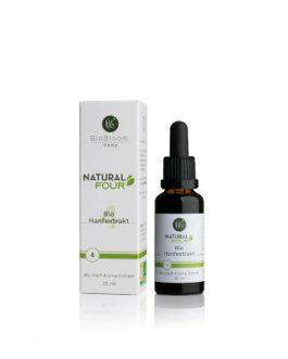 4% Bio CBD Hanfextrakt – NaturalFOUR 30ml