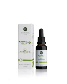8% Bio CBD Hanfextrakt – NaturalEIGHT 30ml