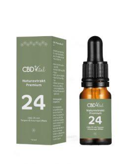 CBD Öl Naturextrakt Premium Öl 24%